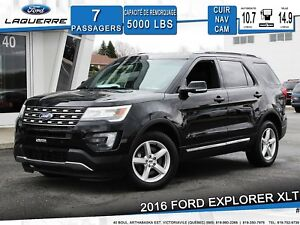 2016 Ford Explorer XLT **CUIR*CAMERA*NAVIGATION*HITCH**