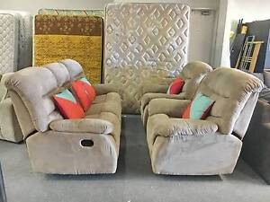 DELIVERY TODAY COMFORTABLE RECLINER 3X1X1 sofas set lounge couch Belmont Belmont Area Preview