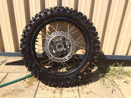 250 rear dirt bike wheel  Botany Botany Bay Area Preview