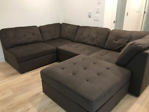 5 piece sectional couches