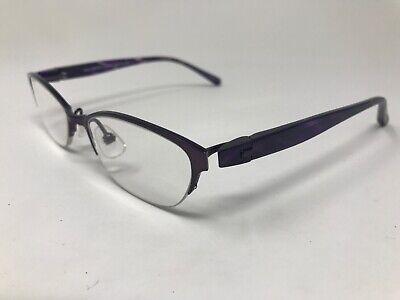 5ad1d6d4b76 KIO YAMATO Womens Eyeglasses Halfrimless Japan KT354U 49-17-130 Titanium  TR13