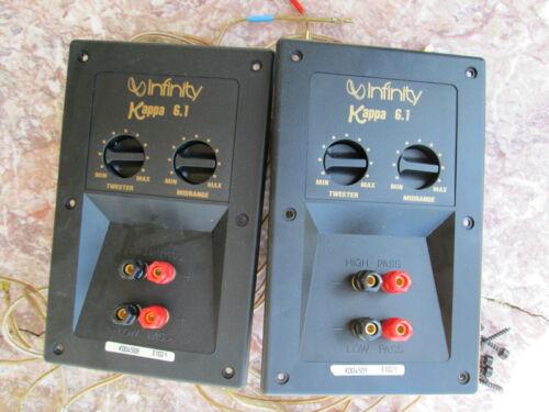 Infinity 6.1 Kappa Speakers Crossovers Pair