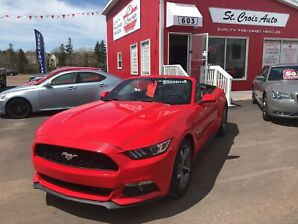 2017 Ford Mustang CONVERTIBLE AUTO V6