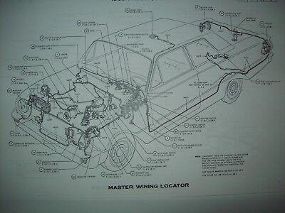 1967 Ford F series pickup truck wiring diagram  f100 f150 f250