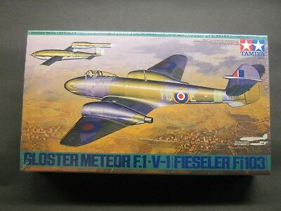 TAMIYA 1/48 GLOSTER METEOR F.1 V-1 FIESELER FI 103 61065