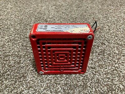 Federal Signal 450d B4 Fire Alarm Electromechanical Hornstrobe