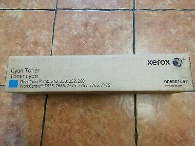 Xerox Docucolor DC 240 242 250 252 260 Cyan Twin Toner Cartridge 006R01452, usado segunda mano  Embacar hacia Spain