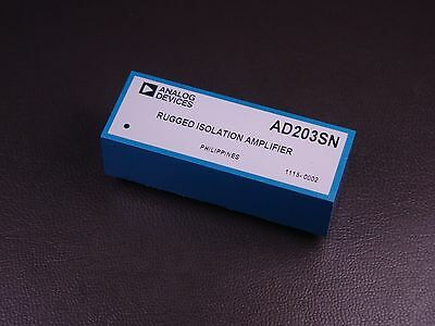 Ad203sn Analog Devices Rugged Isolation Amplifier 10khz - 15vdc Nos