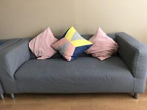 Ikea love sofa for sale