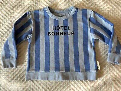 Tiny Cottons Blue Sweatshirt 2 Top Sweater Toddler 2Y Tinycottons Hotel Bonheur