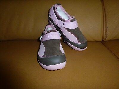 CROCS DAWSON CHOCOLATE BUBBLEGUM J2 Gr. 33-34 Schuhe Slipper Mädchen Schuhe