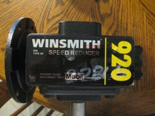winsmith 920mdbe 20:1 1750 rpm 615 output torque gear reducer