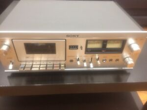 Sony tape deck Tc 204 sd