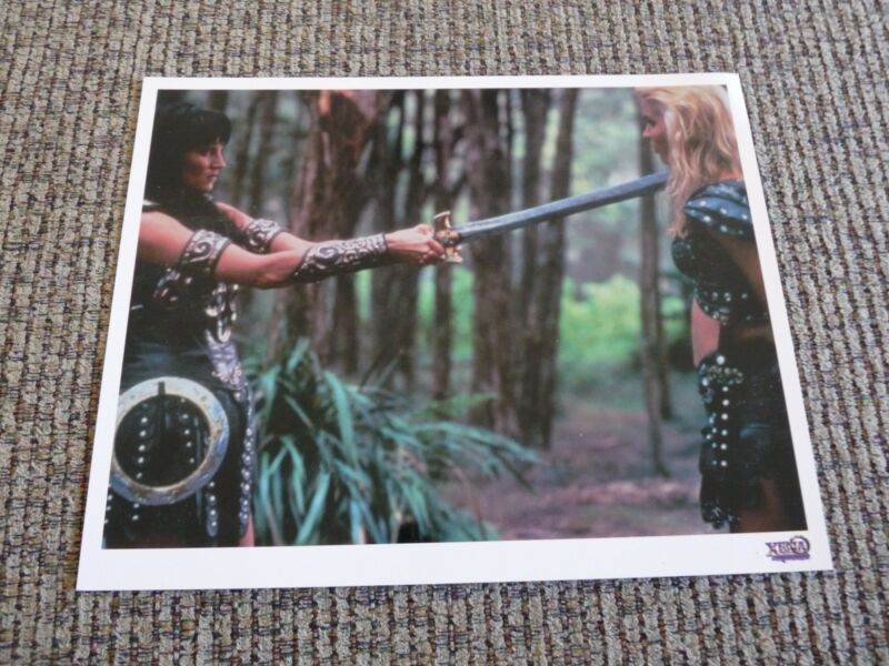 Xena Lucy Lawless Warrior Princess Season 3 Meternal Instincts 8x10 Promo Photo