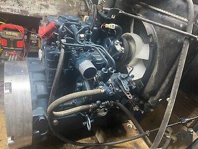 Kubota Engine Z482 Diesel Engine 2 Cylinder Latest Generation Digger Microcar