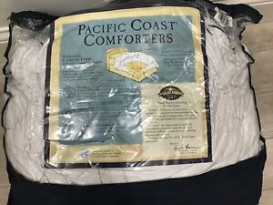 Pacific coast queen size feather down duvet