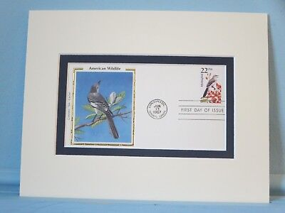 State Bird of Texas - the Mockingbird  & First Day Cover