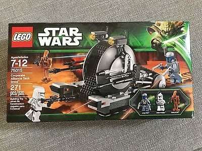 Lego Star Wars 75015 Corporate Alliance Tank Droid   New   Unopened