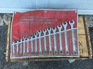 """""""14 Pc Metric Combination Wrench Set"""""""