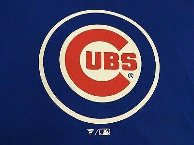 Fanatics womens Cubs T Shirt Top V Neck Chicago Cubbies Baseball MLB Cotton 3XL Baseball Womens V-neck