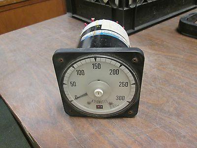 Crompton Kilowatt Meter 218a Qqxx 120v Range 0-300 Kw Used