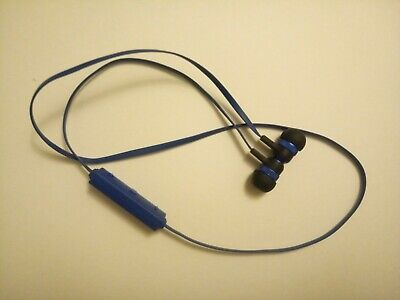nSpire NSP808 MAGNETIC BLUETOOTH EARBUDS (Blue) Great Sound!