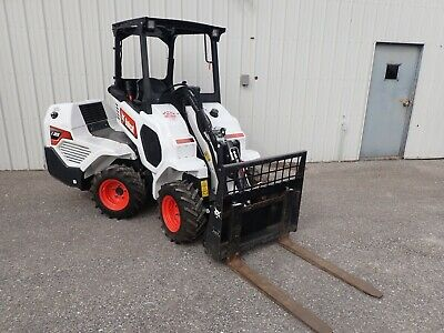 New Bobcat L23 Small Articulated Wheel Loader Orops Hydro Traction Assist