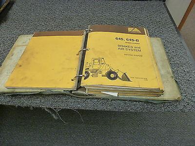 Fiat Allis 645b Articulated Wheel Loader Shop Service Repair Manual Book