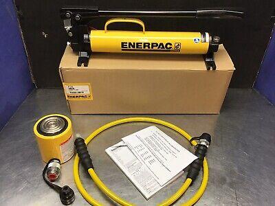 Enerpac Rcs302 30 Ton Hydraulic Cylinder Set P39 Pump 10000 Psi