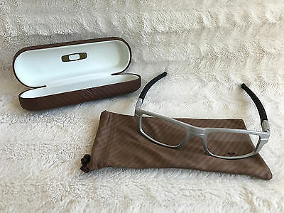 Oakley RX Eyeglasses Glasses Frame PANEL Raw Chrome OX3153-0353 [53-18-143]