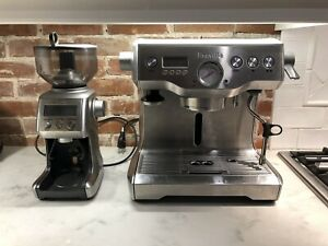Breville Dual Boiler Espresso Machine and Smart Grinder Pro