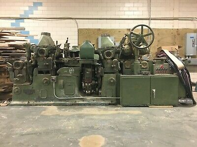 Mattison 5-head 6x12 Moulder - Model 226 - With Matching Grinders