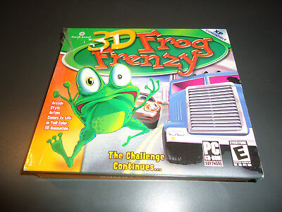 ng Frogs (PC, 2003) Game Windows (Mint) (Flying Frog Games)