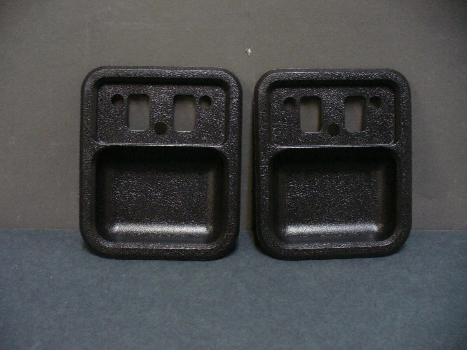 68 69 Ford Torino Falcon Fairlane door handle cups black 68 Gaaxie Econoline
