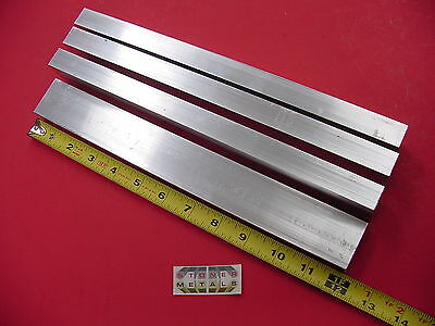 4 Pieces 34x 1-12x 18 Wall Aluminum Rectangle Tube 6063 T52 X 12 Long