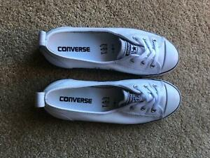dd4c52ce33af Converse Chuck Taylor All Star Dainty Ballet Leather Slip White ...