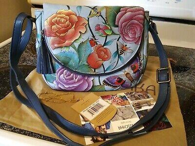anuschka handbag Roses D'amour NWT