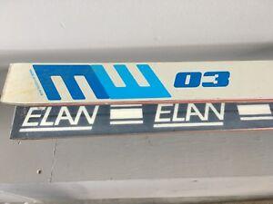 """Elan ski's 76"""" downhill"""