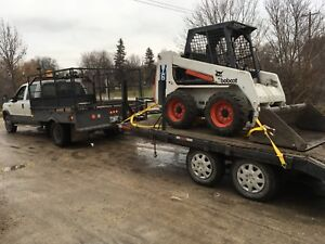 2006 Ford F-350 dually-bobcat 763 -trailer combo