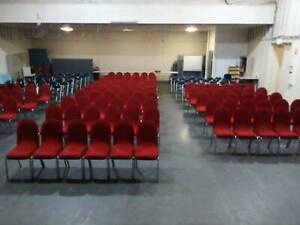 Hall stacking chairs