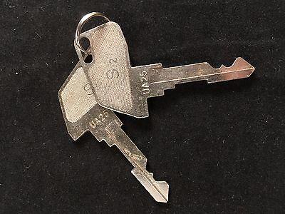 Tec Cash Register S2 Key Ua25 Set Of 2