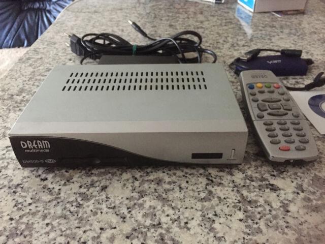 DREAM Multimedia DM500-S TV-Receiver plus Vonets VAP11G Wi-Fi Bridge