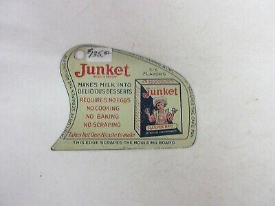 VINTAGE ADVERTISING JUNKET POT SCRAPER TIN PROMO ADVERTISING M-333