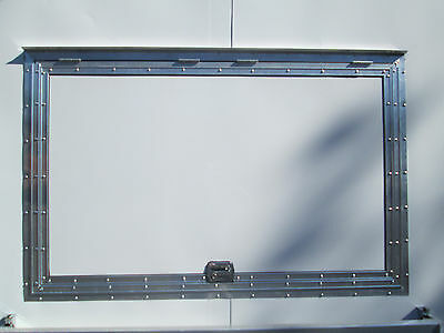 Concession Serving Window Size 33 X 53  No Glass - Lifetime Warranty