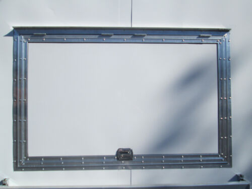"Concession Serving Window size 33"" X 53""   NO GLASS  - LIFETIME WARRANTY!!"