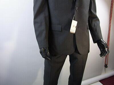 Männer Herren Anzüge (Herren Anzug Männer Anzug Bexleys  Man Farbe Anthrazit 100% Schurwolle Model 42)