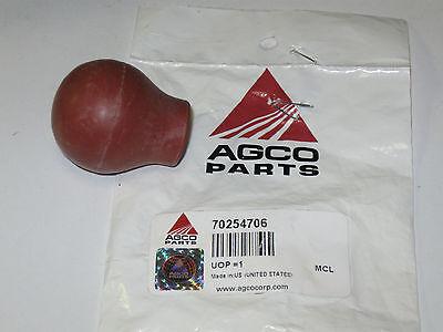 Allis Chalmers 170 180 Knob RED Throttle // Fuel Shut Off 185-702547 175