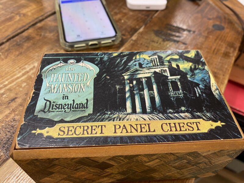 Disneyland Haunted Mansion Puzzle Box ….