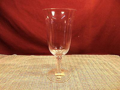 Miller Rogaska Crystal Air Twist Pattern Iced Tea Goblet 8 1/4