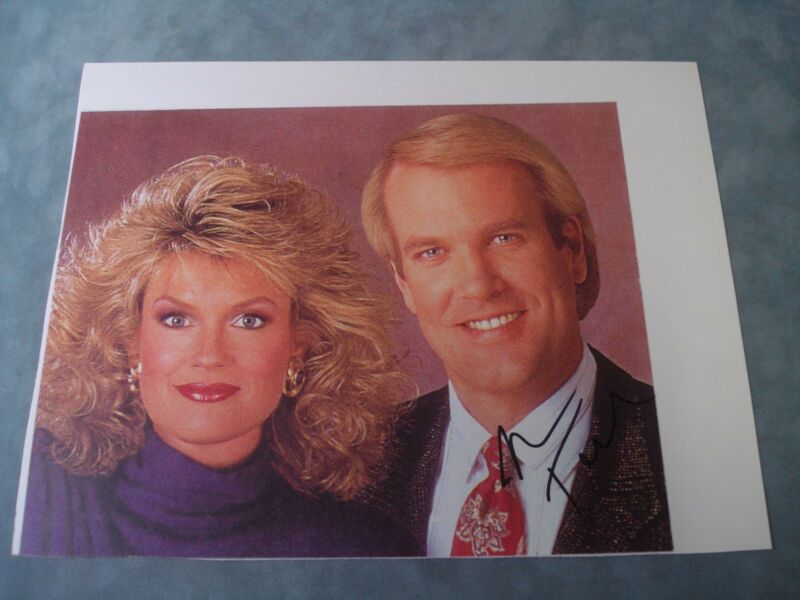 AUTHENTIC  **JOHN TESH HAND SIGNED AUTOGRAPH PHOTO** W/ COA
